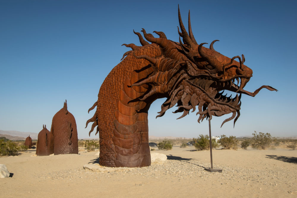 Anza-Borrego Desert State Park and Galleta Meadows Sculptures